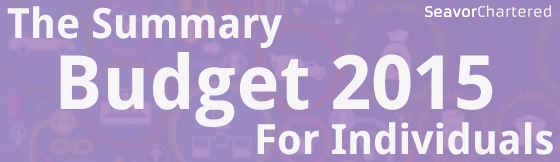 UK Budget 2015 Summary For Individuals