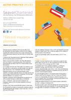National Insurance Planning